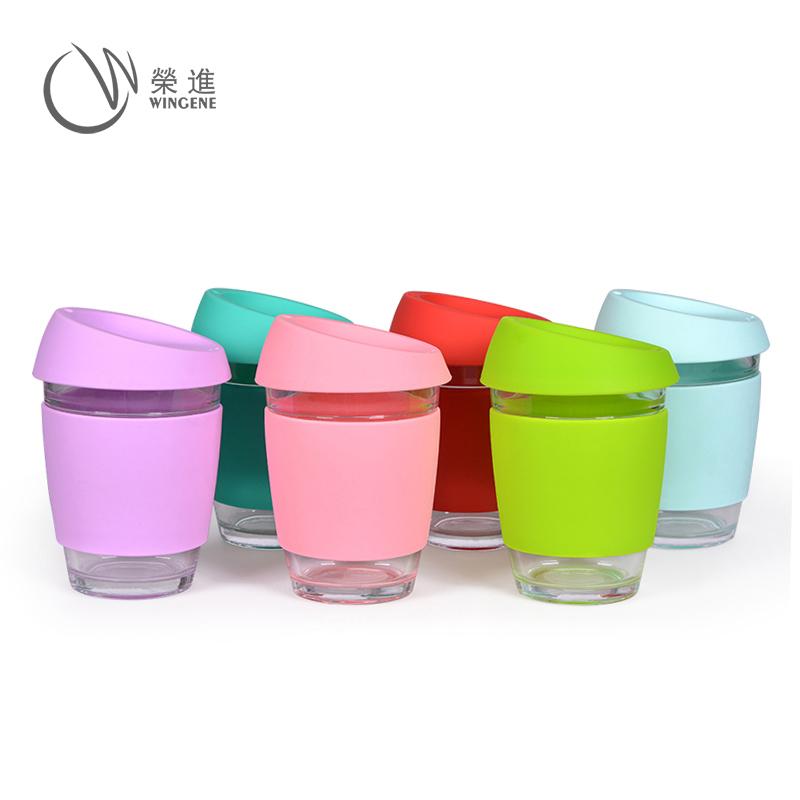 创意简约玻璃咖啡杯