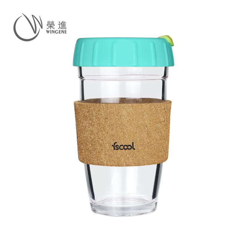 促销礼品家用办公软木套咖啡杯